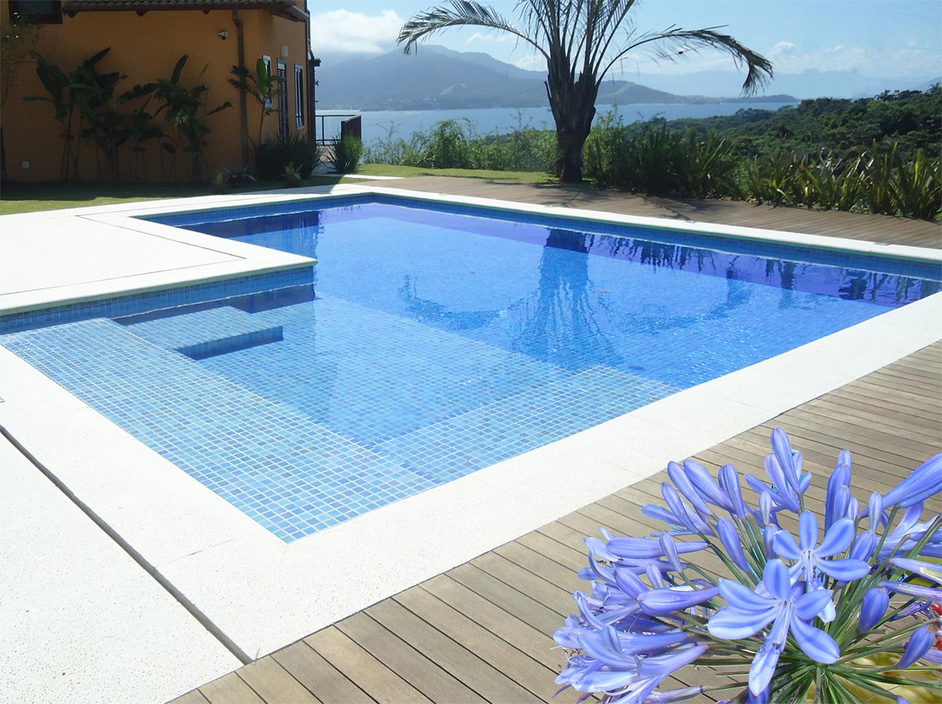 Piscinas em concreto armado e com a engevil - Modelos de piscinas fotos ...