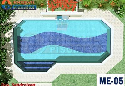 Projetos e modelos de piscinas maravilhosasengevil piscinas for Modelos de piscinas de campo